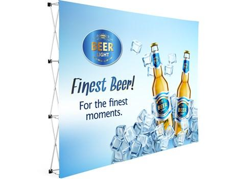 Legend Straight Banner Wall 3m X 2.25m