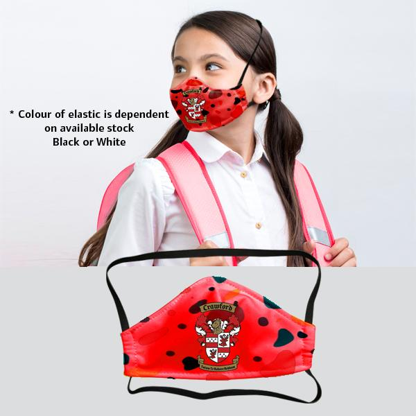 Smarty 3 Layer Washable Beak Mask With Fc 9-13y