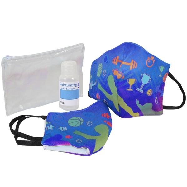 Sanitiser And Mask Corporate Set 7