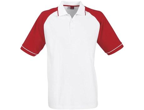 Mens Sydney Golf Shirt - Red Only