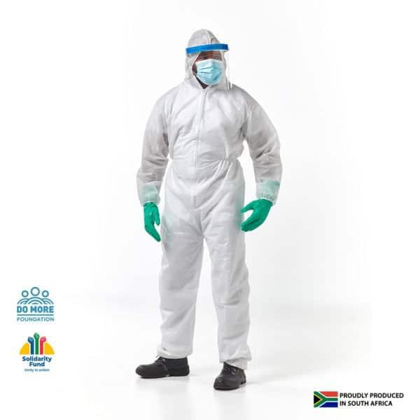 Disposable Overalls, 50gsm Non Woven, Medium To 3x Large