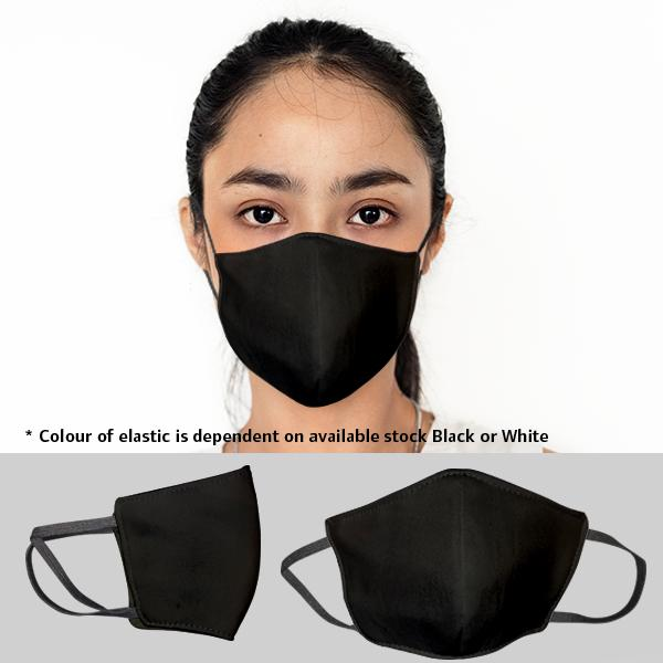 FACE MASKS & SHIELDS | Gage Unbranded 3 Layer Washable Beak Mask-ladies - 2