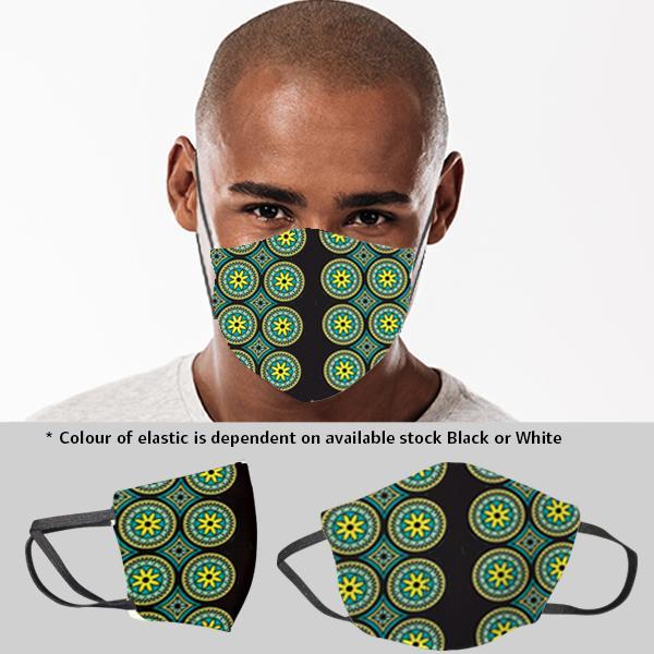 Mens Molo 3 Layer Mask Fc