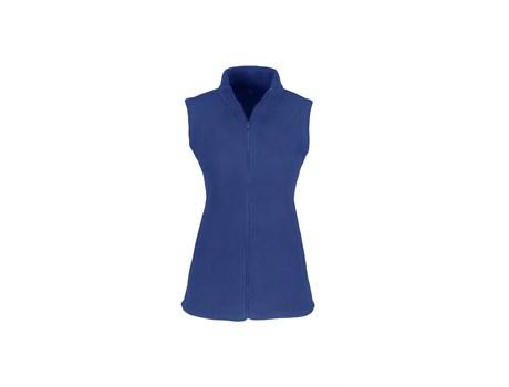 Ladies Yukon Micro Fleece Bodywarmer - Blue Only