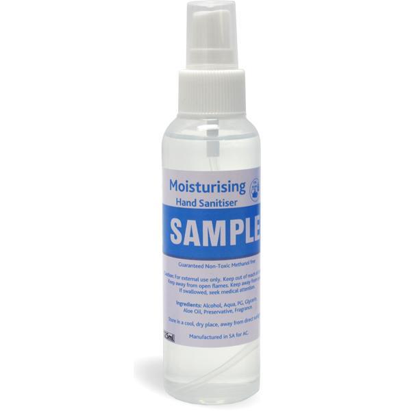 125ml Spray Sanitiser With Fc Sticker