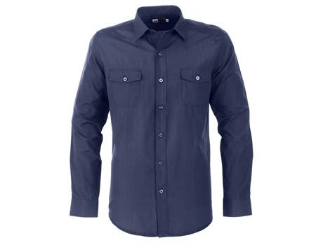 Mens Long Sleeve Bayport Shirt - Navy Only