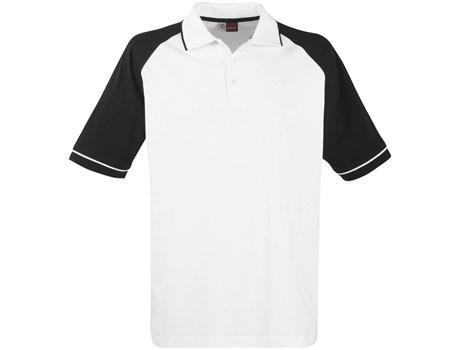 Mens Sydney Golf Shirt - Black Only