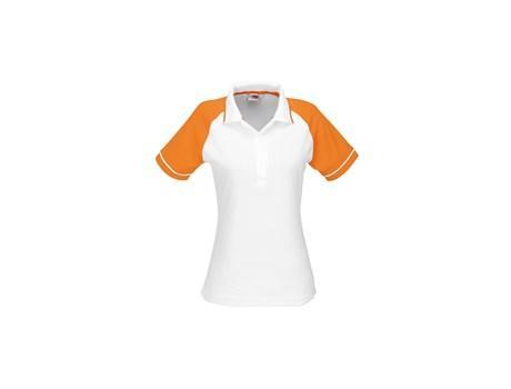 Ladies Sydney Golf Shirt - Orange Only