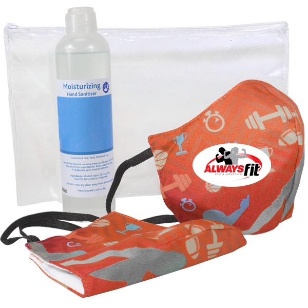 Sanitiser And Mask Corporate Set 11