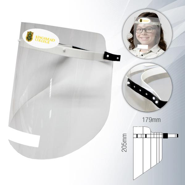 Armour Kids Face Shield With Stickers & Fc