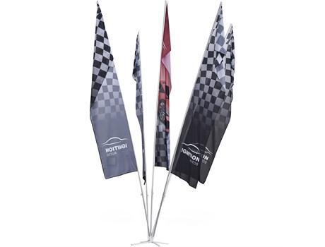 Champion 5-flag Fountain 6m - Large