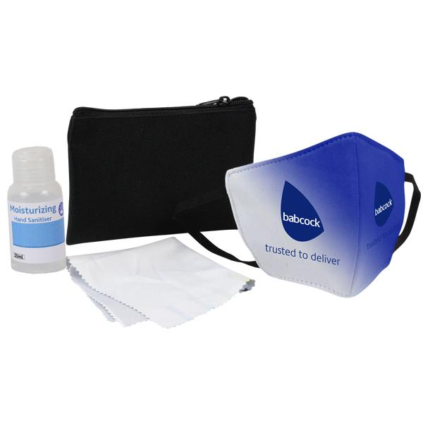 Sanitiser And Mask Corporate Set 6