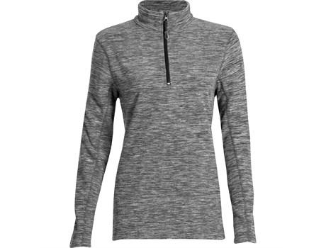 Ladies Energi Micro Fleece Sweater - Grey Only
