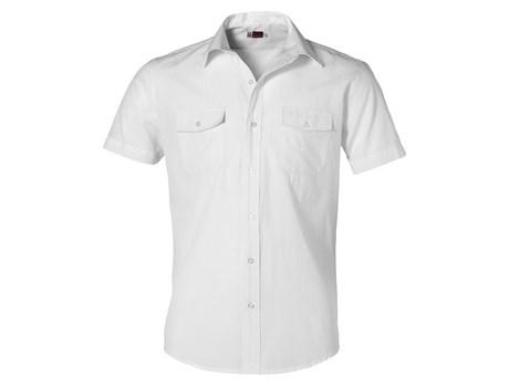 Mens Short Sleeve Bayport Shirt -white Only