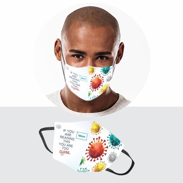 FACE MASKS & SHIELDS | Iyar Gage 3 Layer Washable Face Mask Fc-men - 1