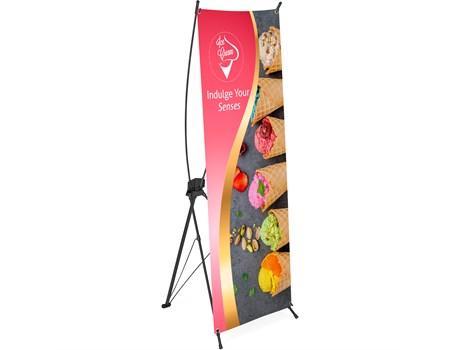 Champion Layflat Pvc X-banner 60cm X 160cm