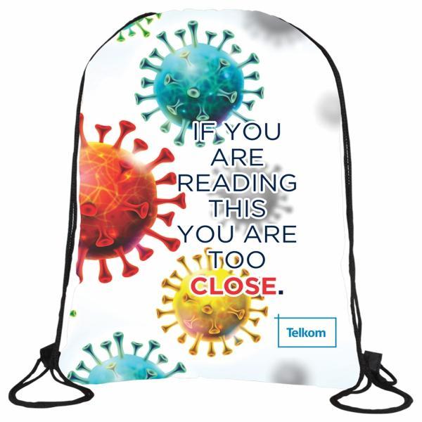 Iyar Vibrant Drawstring Bag