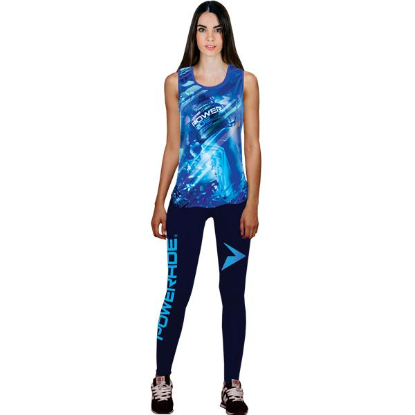 Long Tights With Sublimation Print 3xl