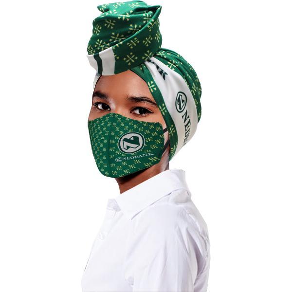 Mila Head Wrap And Mask Set