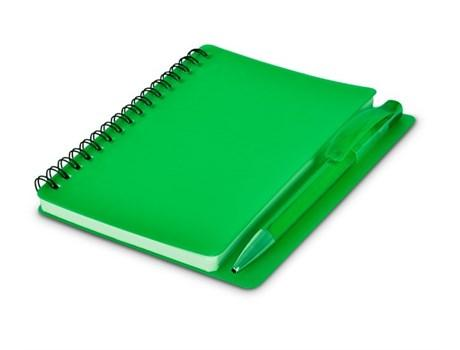 Plasma Notebookand Pen - Lime Only