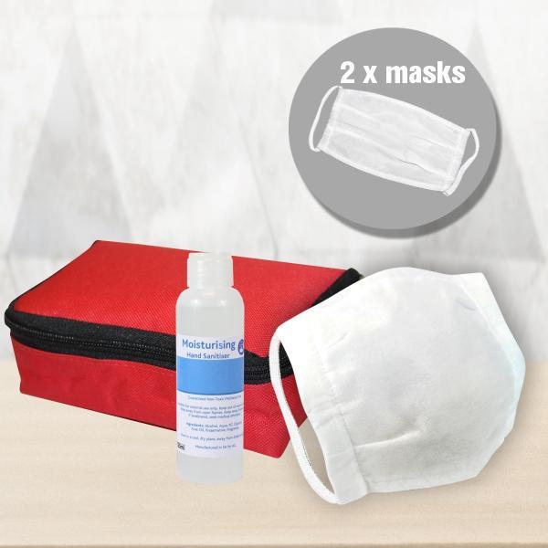 Vamos Mask And Hand Sanitiser Pack
