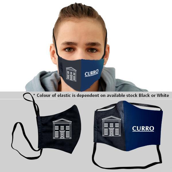 Kiddo 3 Layer Washable Mask Fc 2 Elastic 14-17y