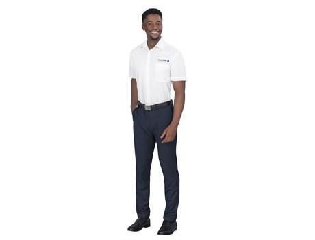 Mens Long Sleeve Washington Shirt -white Only