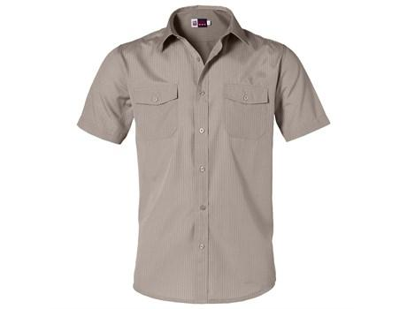 Mens Short Sleeve Bayport Shirt - Khaki Only