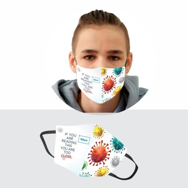 Iyar Kiddo 3 Layer Mask With Fc 14-17y