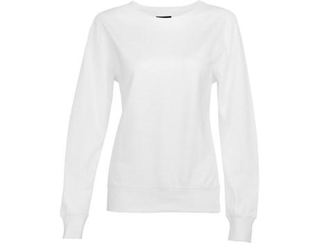 Ladies Alpha Sweater -white Only