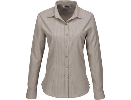 Ladies Long Sleeve Huntington Shirt - Khaki Only