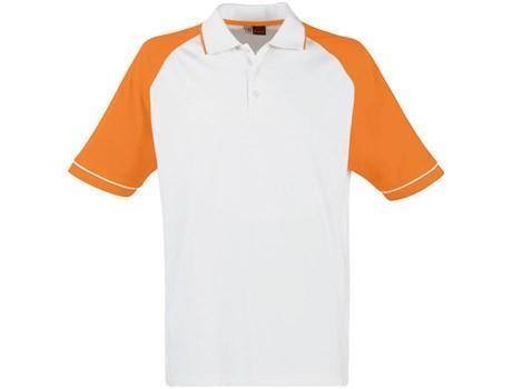 Mens Sydney Golf Shirt - Orange Only