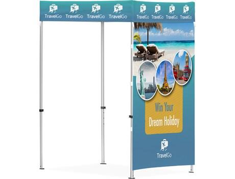Ovation Gazebo 1.5m X 1.5m - 1 Full-wall Skin