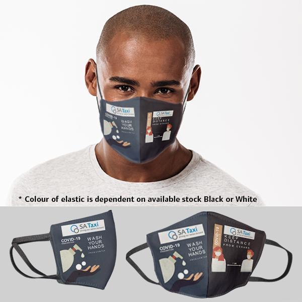 Be Safe 3 Layer Beak Mask-men |wash Hands