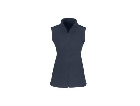 Ladies Yukon Micro Fleece Bodywarmer - Navy Only