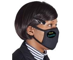 Cotton 3-ply Face Mask - Includes Full Colour Heat