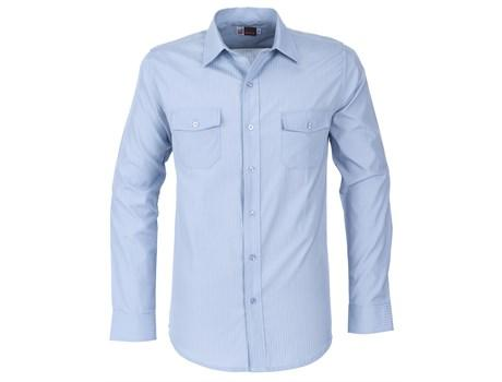 Mens Long Sleeve Bayport Shirt - Light Blue Only
