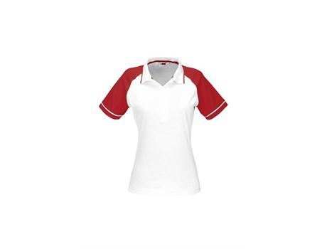 Ladies Sydney Golf Shirt - Red Only