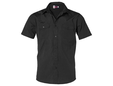 Mens Short Sleeve Bayport Shirt - Black Only
