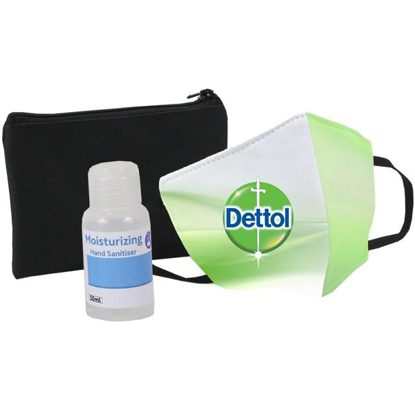 Sanitiser And Mask Corporate Set 5
