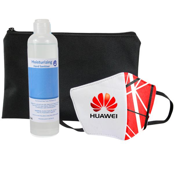 Sanitiser And Mask Corporate Set 10