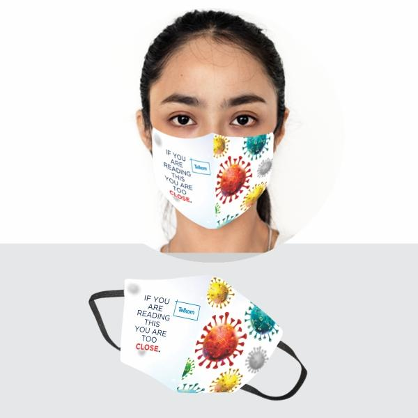 Iyar Gage 3 Layer Washable Face Mask Fc-ladies