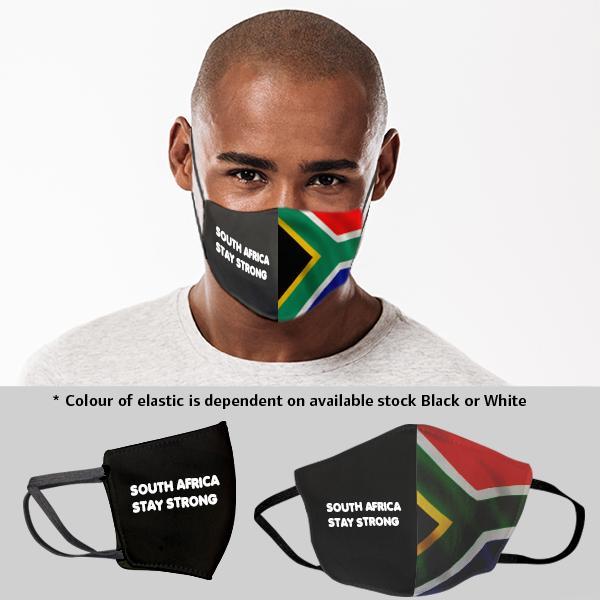 Sa Flag 3 Layer Beak Mask - Men
