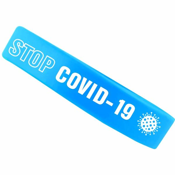 Silicone Wristband With 1 Colour Print
