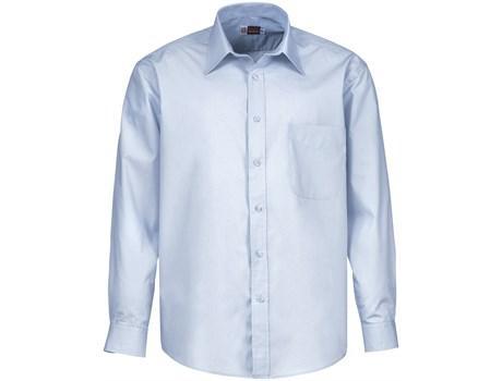 Mens Long Sleeve Washington Shirt - Blue Only