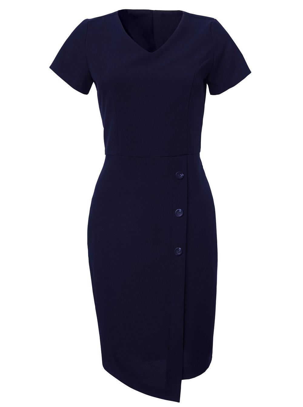 Ladies Simone Dress - Fabric 869 Navy