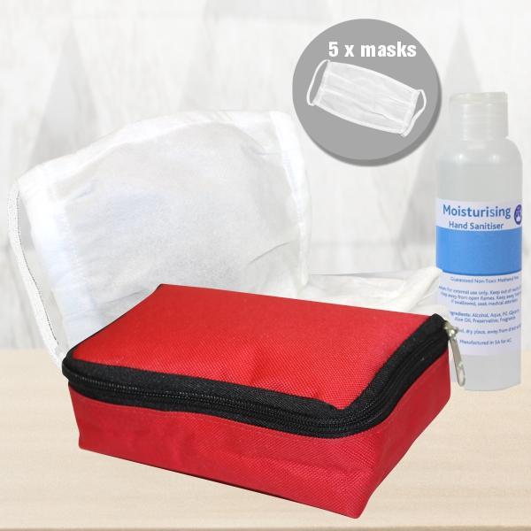 Velo Mask And Hand Sanitiser Pack