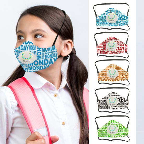 Smarty 5 Days 3 Layer Fc Face Masks