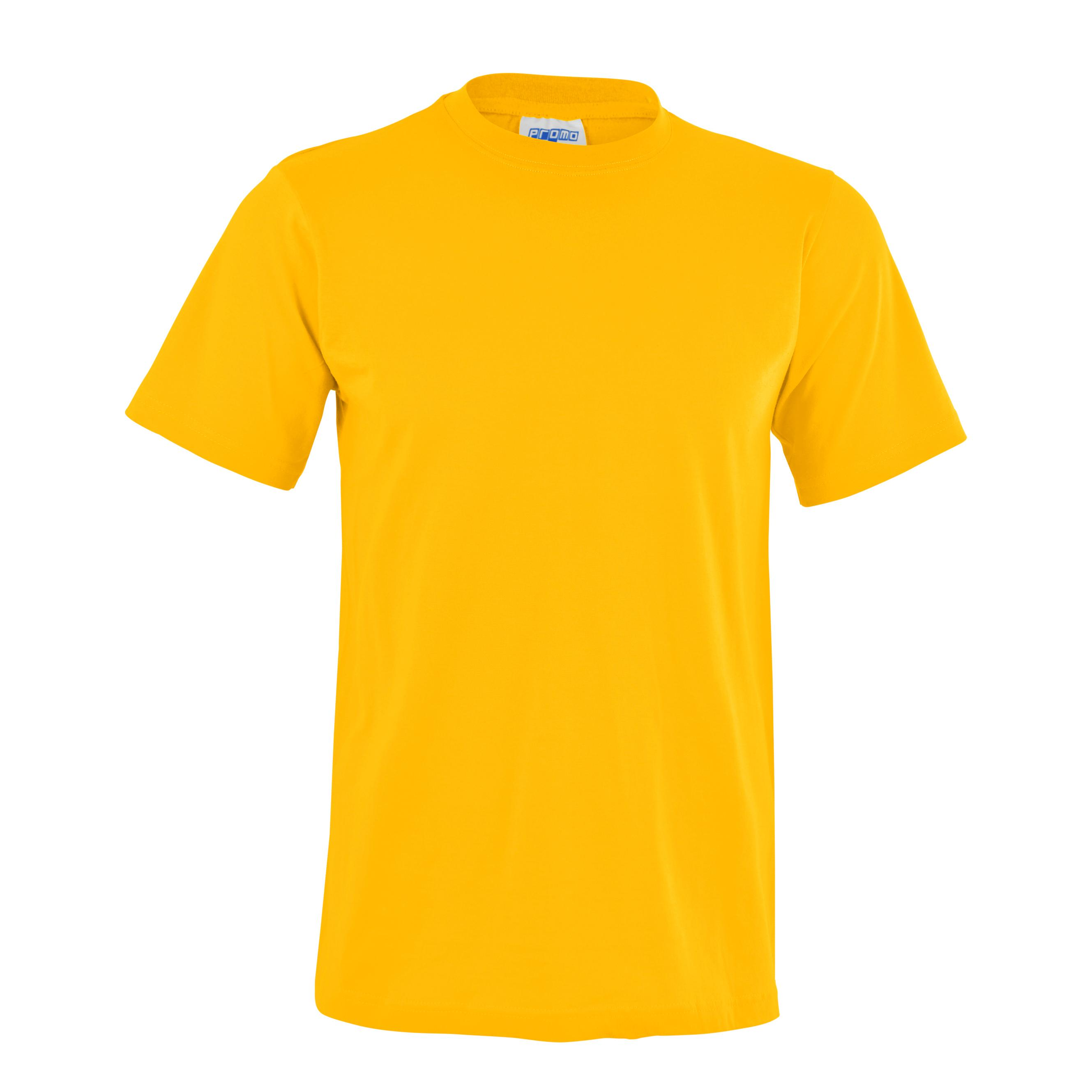 Unisex Promo T-shirt - Yellow Only
