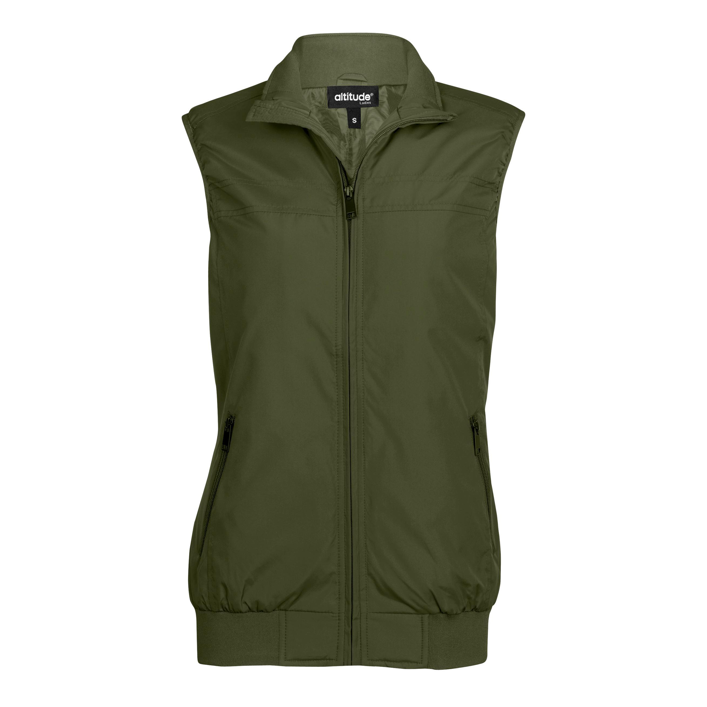 Ladies Colorado Bodywarmer - Military Green Only